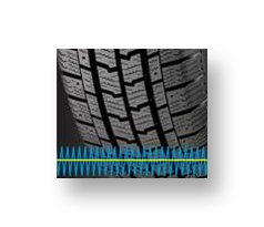 Goodyear Cargo Ultra Grip 2 noise reducing trad pattern