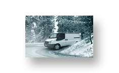 Goodyear Cargo Ultra Grip 2 outstanding traction on winter roads